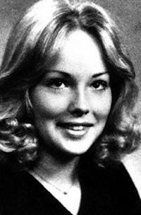 Sharon Stone yearbook