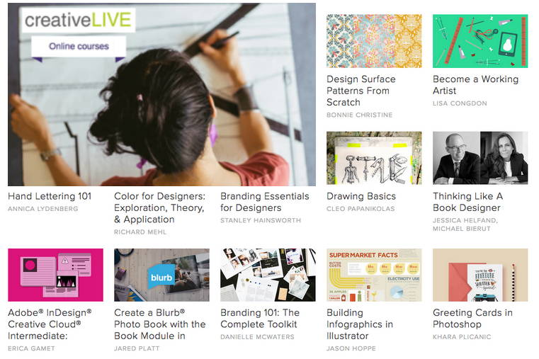 CreativeLive learning site
