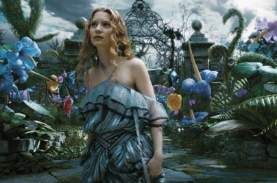 Mia Wasikowska in Alice in Wonderland