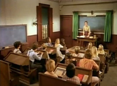 school room - Little House on the Prairie tv series