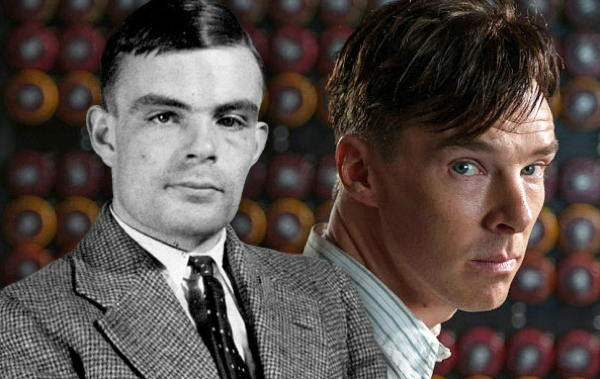 Alan Turing and Benedict Cumberbatch
