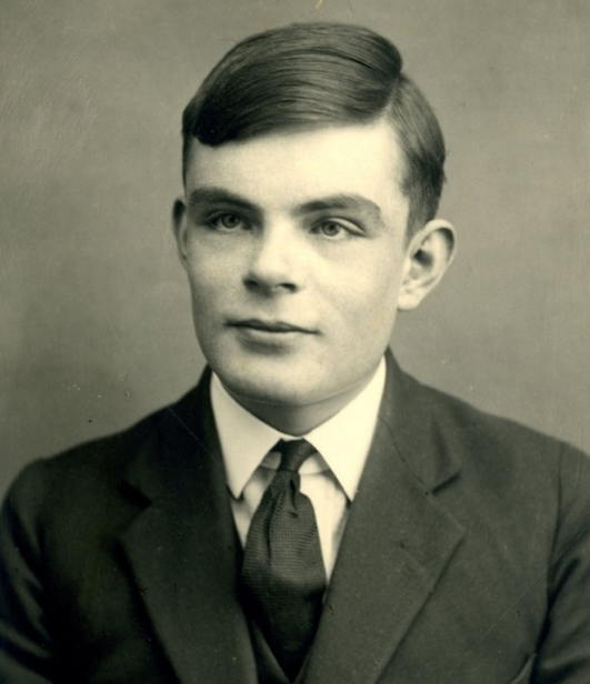 Alan Turing as a 16-year-old