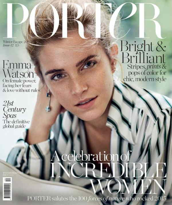 Emma Watson - Porter mag. cover