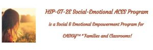 Emotional Health Programs for Creative, Gifted, Highly Sensitive People