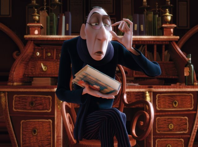 Anton Ego from the movie Ratatouille