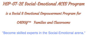 Social-Emotional ACES Home Study Program