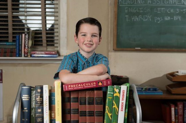 Iain Armitage in TV series Young Sheldon