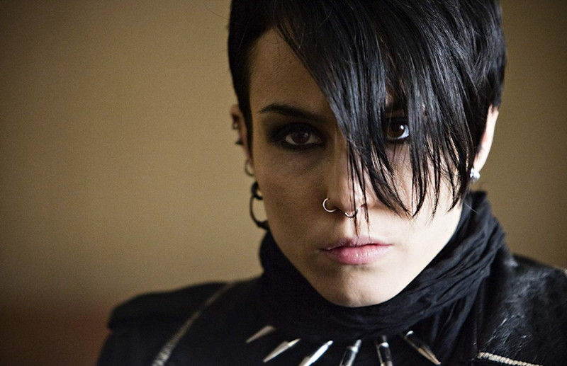 Noomi Rapace in The Girl with the Dragon Tattoo (2009)
